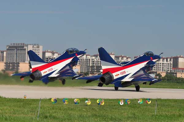 PLA aerobatic team to perform in Russia