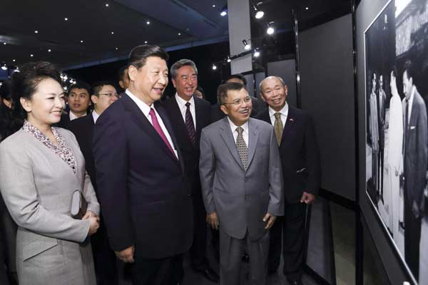 Xi in call for building of new 'maritime silk road'