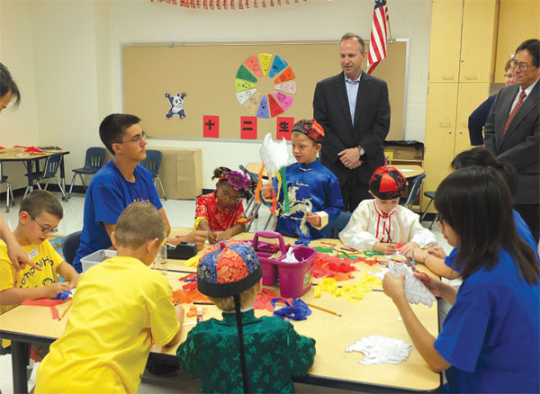 Chinese language education grows in Delaware