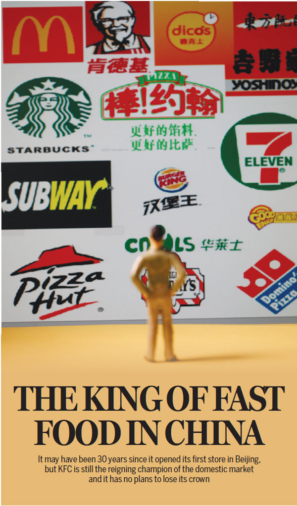 The King Of Fast Food In China Usa