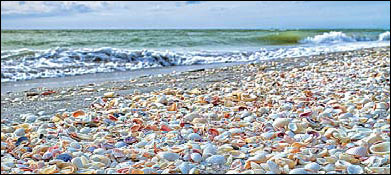 Quiet Beaches On Florida S Sanibel Island
