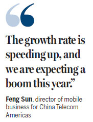 China Telecom has big US plan