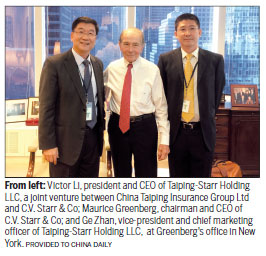 China Taiping makes inroads in insurance